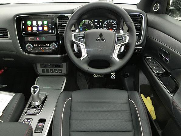 上質なSUVとしての車格感があるインテリア。