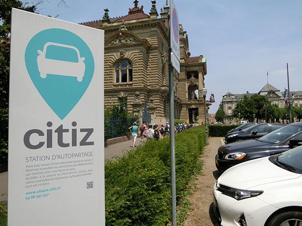 フランス国内の充電インフラは、現時点ではあまり進まず。