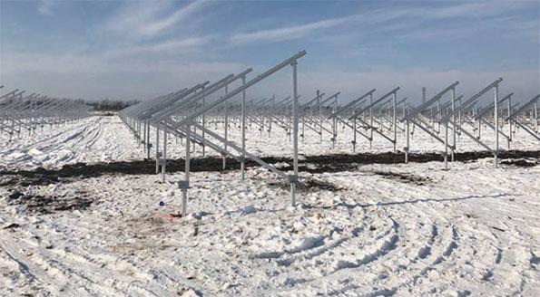 開発中の北海道の太陽光発電所