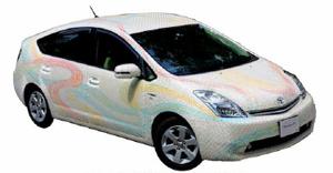 プリウスをベースにした研究開発向け実験車両「RoboCar HV」が登場