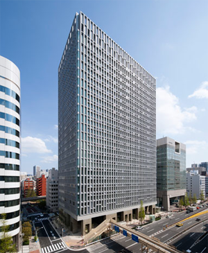 清水建設、東京・京橋に「超環境型オフィス」の新本社