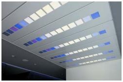 三菱化学、五洋建設ビルに調光・調色機能をもつ有機EL照明パネルを設置