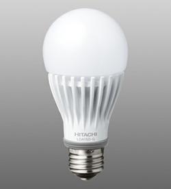 日立アプライアンスの大光量(1,520lm)LED 白熱電球100W形に相当