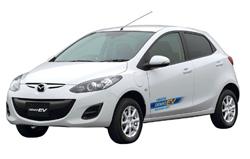 マツダ、電気自動車「デミオEV」リースをスタート