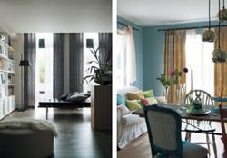 川島織物セルコン、環境配慮型カーテンの遮熱・保温機能を高める
