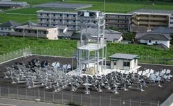 宮崎大、国内最大級のビームダウン式太陽集光装置で水素製造など