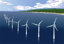 東芝など6社1協会、洋上風力発電の建設技術と事業化に関する共同研究会を設立
