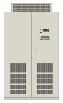 明電舎、入力運転電圧を750Vに上げた太陽光発電用パワコンを発売