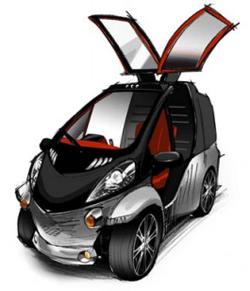 トヨタの新コンセプト車「Smart INSECT」、持ち主の顔を認識