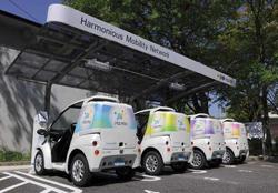 トヨタ、愛知県豊田市で都市交通システム「Ha:mo(ハーモ)」の実証運用を開始