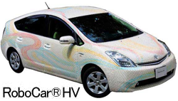 実験車両「RoboCar HV」レンタル開始 センサ情報をクラウド上に蓄積