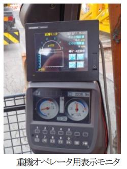 フジタ、重機などのCO2排出量を計測できるモニタリングステムを開発