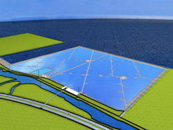 丸紅、大分県にメガソーラーを建設 単一事業者・1カ所での発電は国内最大級