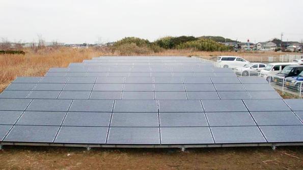 個人向けの地上設置型太陽光発電パッケージが登場 休耕地などの土地活用に