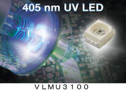 米ビシェイ、新しい紫外線LEDを発表
