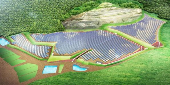 富山県募集のメガソーラー、スパークス・グループ子会社連合体に決定