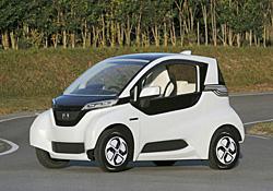 ホンダ、超小型EVと新型ハイブリッドシステムを発表