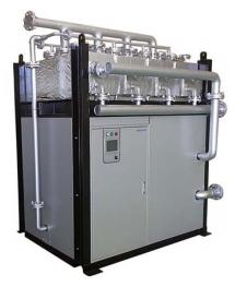 東京ガス・三浦工業、生産工程で排出される廃温水を蒸気に変換する装置を開発