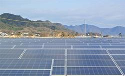 広島県尾道市に塩害対策、コスト低減を両立させた太陽光発電所が誕生
