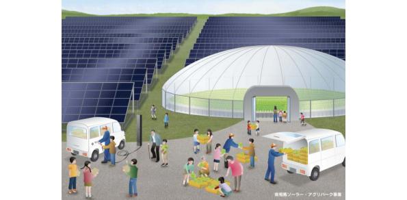 太陽光と植物工場を併設した復興拠点「南相馬ソーラー・アグリパーク」が着工