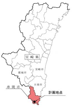 宮崎県串間市に6万kW級の風力発電 九州電力と九電工がEIAに着手