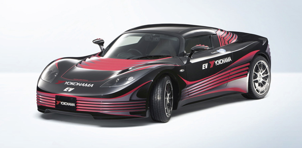 横浜ゴムが電気自動車「AERO-Y」を発表 接着剤など自社技術を駆使