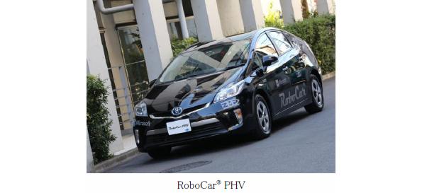自律移動制御の研究開発向け自動車RoboCar、プリウスPHV版が販売開始