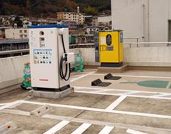 NECなど、神奈川県箱根で自治体のEV充電サービス有料化に向けた実証実験