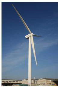 世界初、横浜で油圧ドライブトレイン採用の大型風力発電の試験運転
