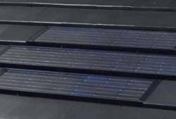 鶴弥、太陽光発電システムに対応した粘土瓦を発売