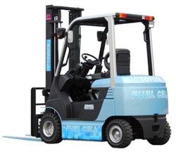 豊田自動織機が燃料電池フォークリフトを開発、北九州市で実証実験
