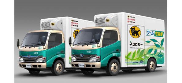 ヤマト運輸・トヨタ・日野自動車、東京都でEVトラックの実証運行を開始