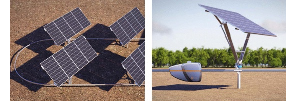 JNC、追尾型の太陽光発電設備の実証実験 米ベンチャー企業の技術導入