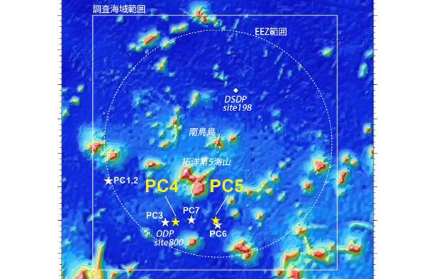 JAMSTEC・東大、南鳥島周辺に中国を凌ぐ超高濃度レアアース泥を発見