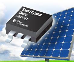 「スマート・バイパス・ダイオード」で太陽電池のホットスポット発生を抑止