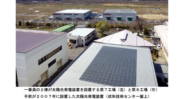 日精樹脂、長野県の工場屋上に500kWの太陽光発電システムを設置