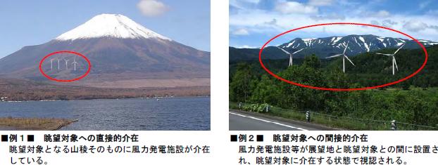 国立公園などで風力発電が景観を阻害しないためのガイドラインが改定