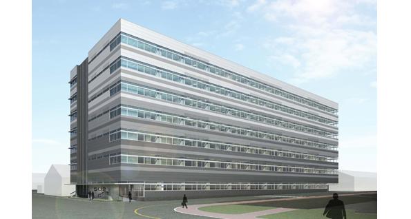 三菱電機、神戸で環境配慮型「技術棟」を建設 LEDや屋上緑化など導入