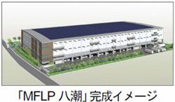 埼玉県にCASBEE取得の物流施設 屋上にはメガソーラーも