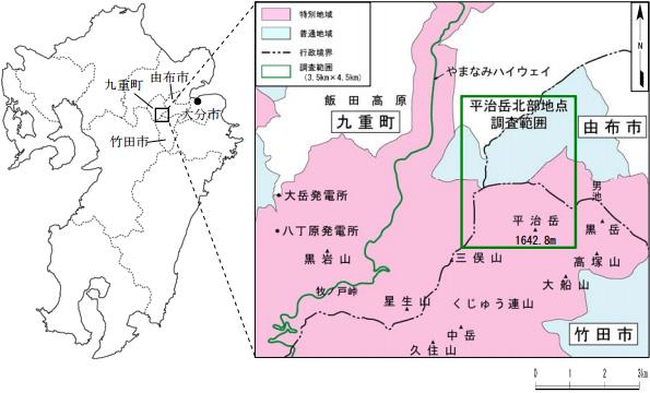 九電、地熱発電を強化 大分県平治岳北部では現地調査も