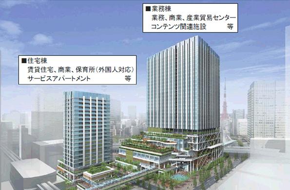 東京都、2,200人分の帰宅困難者受け入れ可能なスマートシティ開発へ