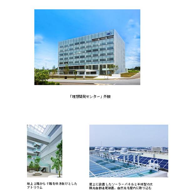 理想科学工業、茨城県の開発センターに各種再エネ・省エネ技術を導入