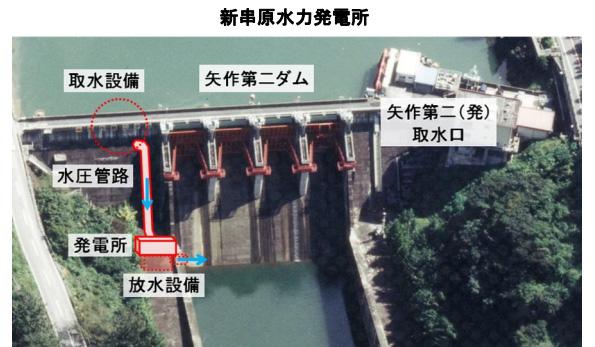 岐阜県の矢作第二ダム、流量維持の放流水でも小水力発電