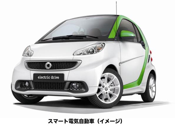 大阪府でベンツのカーシェアリング始まる (※ただし電気自動車)