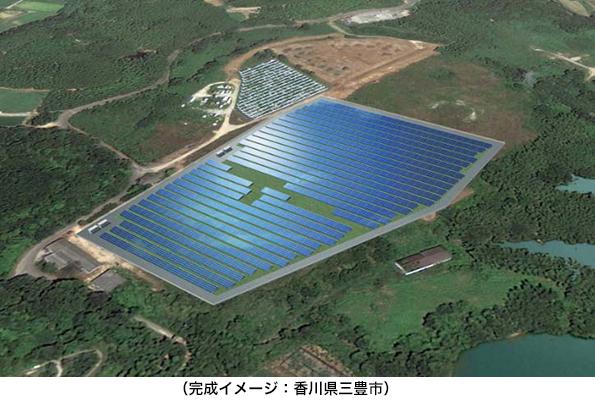 オリックス、山口県下関市の銀行所有地にメガソーラーを建設