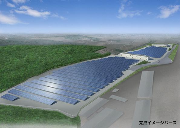 奈良県に2MWのメガソーラー 淺沼組敷地内でJFEテクノスが建設