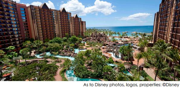 ハワイのディズニーリゾート、LEED認証を取得