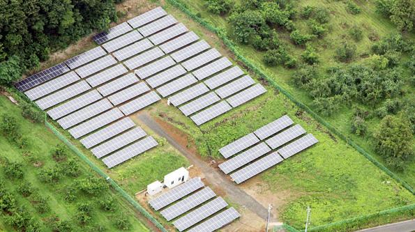 日本グリーンパックス、福島県で太陽光発電所 防災拠点としても活用