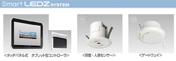 LED照明の新しい制御方法 1台ずつ無線通信で調光可能エリアも自由自在