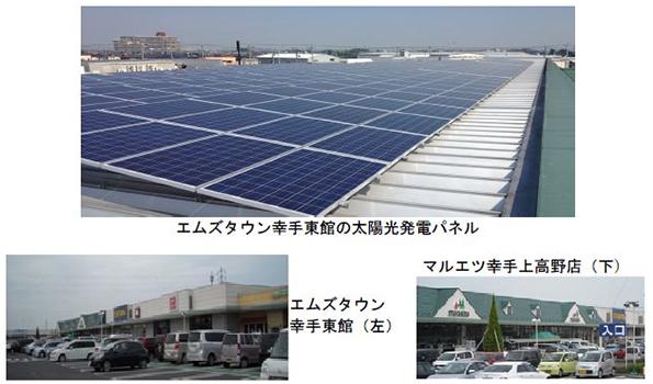 省エネに取り組む埼玉県のスーパー マルエツが店舗屋上に太陽光発電、LED化も